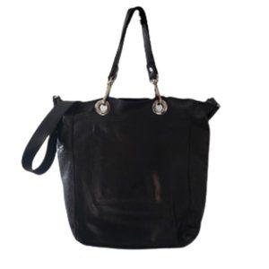 Rudsak black tote crossbody shopping bag
